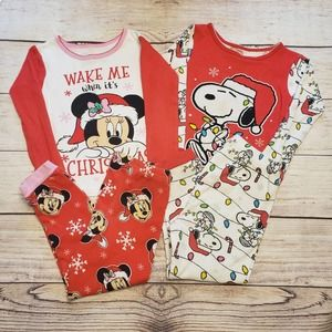 Toddler Christmas PJs - size 4T